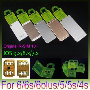 RSIM 10+ R SIM 10plus RSIM 10+ Rsim10 + desbloquear la tarjeta para el iPhone 6S 6 5S 5 4S ios9 9.X 3G 4G CDMA Sprint, AU, uso directo Softbank s no Rpatch