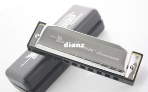 New Arrive Silver Swan Harmonica 10 Holes Key of C for Blues Rock Jazz Folk Harmonicas