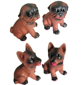 Funny Pet dog toys Creativo Shrilling Chicken Sound Spremere Screaming Pug Toy Screaming dogs Giocattolo divertente sonoro