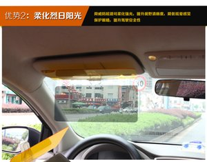 Auto Day and Night Parasole Visori notturni Occhiali da vista Giorno e notte Anti-abbagliamento Auto Parasole Facile da installare Clip Auto Parasole