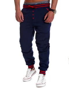 Оптовая продажа-новый 2015 стиль моды мужские шаровары брюки мужчины jogger брюки хип-хоп тренировочные брюки баскетбол спортивные брюки мужчины бег трусцой брюки