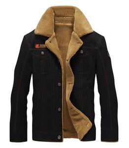Air Force parka giacca militare Uomini Cotone Giaccone Cappotto Army pilota giacche da uomo