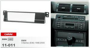 CARAV 11-011 Car Stereo Radio Fascia Plate Panel Frame Kit For BMW3-Series 1998-2005 Stereo facia surround install trim fit Dash Kit