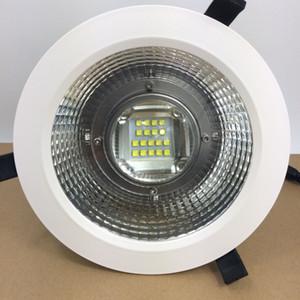 ارتفاع السقف 100W 120W 150W 200W سوبر LED النازل قطع حفرة 200MM راحة الإضاءة Fixting لقاعة الفندق ، المنطقة العامة