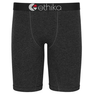 Ethika Männer Staple Unterwäsche Volltonfarbe aus reiner Baumwolle Sport Hip-Hop-Rock Akzis Boxers Skateboard Street Fashion Stretched Legging