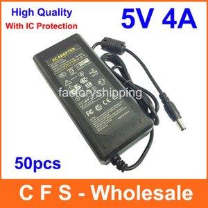 Alimentatore DC 5V 4A AC 5V 20W Adattatore 5.5mmx2.5mm 50pcs Fedex Spedizione gratuita Alta qualità