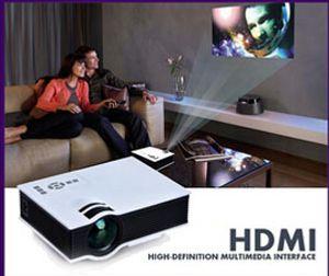 Новейшие оригинальные UNIC UC40 Mini Pico Портативный проектор с USB HDMI для домашнего кинотеатра Beamer Multimedia Projector Proyector