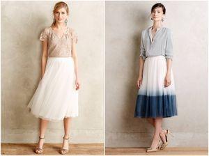 2016 adultos al por mayor mujeres elegante tul tul tutu faldas degradado longitud de té vestidos de fiesta de boda ocasiones barato vestidos de fiesta 3 capas verano