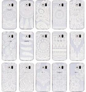Custodia rigida per iPhone 5 Cover a forma di fiore per Samsung Galaxy S6 S6 bordo A3 A5 S5 S4 S3 mini Alpha G850