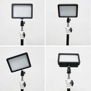 W160 Lámpara de luz de video LED 12W 1280LM 5600K / 3200KDimmable para la videocámara con cámara DSLR Canon Nikon Pentax ZM00073
