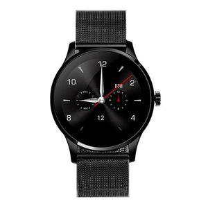K88h relógio inteligente para iphone x ios android monitor de freqüência cardíaca relógio 1.22 polegadas tela redonda iPS bluetooth samsung smartwatch