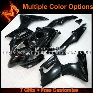 23colors+8Gifts BLACK motorcycle panels For Honda 02 07 CBR125R 2002 2007 CBR 125R 02-07 ABS Plastic Fairing