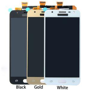 Yeni Test LCD Dokunmatik Ekran Digitizer Yedek Parçalar Samsung Galaxy J5 Başbakan G5700 G570F G570