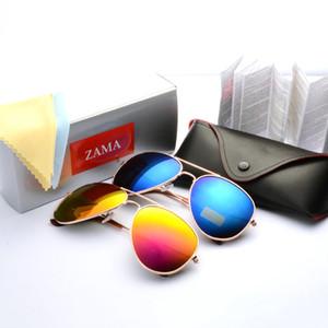 All'ingrosso-moda occhiali da sole a specchio uomo donna designer di marca occhiali da sole con scatola gafas de sol oculos masculino lunette de soleil