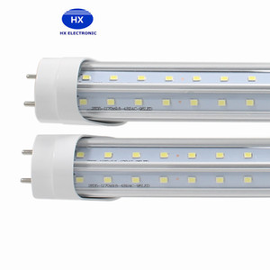 V-Shaped 4ft 5ft 6ft 8ft Cooler Door Led Tubes T8 G13 R17D Led Tubes Double Sides SMD2835 Led Fluorescent Lights AC85-265V UL DLC