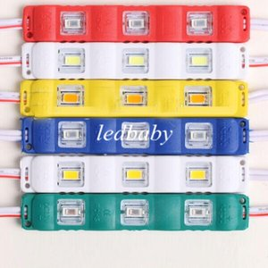 Su geçirmez Enjeksiyon Led Modülleri 5630 3 LEDs 1.5 W Açık Işık Reklam Işaretleri Arka Aydınlatma Kanal Mektuplar için Süper Parlak IP65 12 V