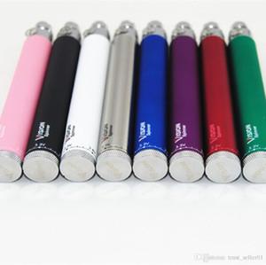 Vision Spinner batteria eGo-c twist Tensione Variabile E Sigarette per ego evod CE4 MT3 Atomizzatore vaporizzatore Clearomizer serbatoi kit di avviamento vape