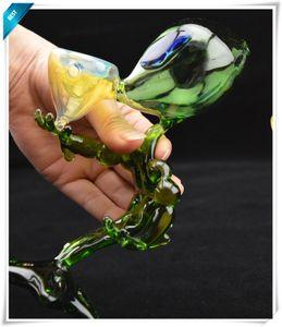 Стеклянный бонг Мини-форма для пришельцев Водопроводная труба