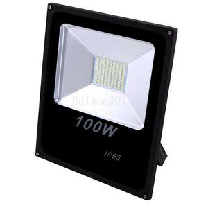 Barato novo preço À Prova D 'Água Branco IP65 100 W Ao Ar Livre Levou Refletores Quente Fresco Levou Luzes de Inundação AC 85-265 V luzes downlight