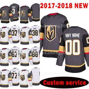 New Custom 2018 Vegas Golden Knights 77 Brad Hunt 37 Reid Duke 87 Vadim Shipachyov Jersey 38 Tomas Hyka 88 Nate Schmidt McNabb Jerseys