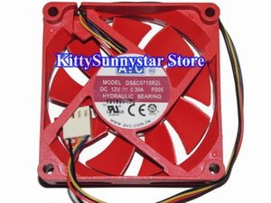 Neue Original AVC 7015 DSSC0715R2L 12 V 0,3A 4 Draht CPU Kühler Lüfter, DSSC0715R12L