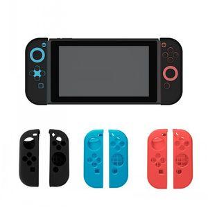 Nouvelle manette de jeu manchon de silicone manchon de protection boîtier de protection interrupteur de protection interrupteur accessoire poignée couvercle pour commutateur Nintendo