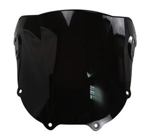 Parabrisas Doble Motocicleta WindScreen WindScreen Para 1994-1997 Honda CBR900RR CBR 900 RR 893 94 95 96 97 1995 1996 Negro