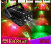 De alta qualidade por atacado novo projetor laser scanner remoto bar DJ dança Xmas Festa Disco efeito de iluminação de palco luzes mostram