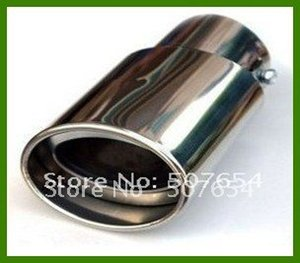 Free shipping! High qulaity Stainless steel muffler silencer for Mazda 3 2011-2014