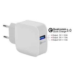 OEM QC3 ODM.0 ЕС США быстрая зарядка dapter путешествия зарядное устройство для Samsung S6 S7 S8 NOTE8 IP8 плюс Универсальный все телефоны