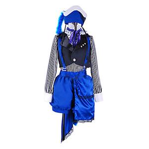 Costume de cirque noir Butler Ciel Phantomhive