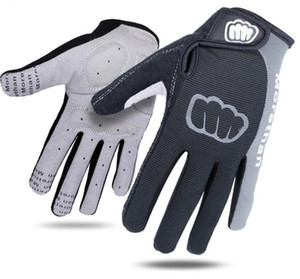 Guanti da ciclismo Uomo Sport Full Finger Antiscivolo Gel Pad Moto MTB Bici da strada bicicletta guanti invernali dito lungo