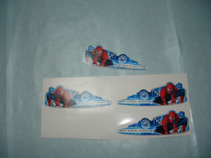 custom free shipping clear PVC different die-cutting self adhesive sticker label