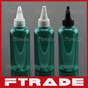 Wholesale- 50pcs/lot ,100ml green Empty bottle cap beak, Fashui lid bottles, lotion bottles, sub-bottling factory ,Squeeze bottle
