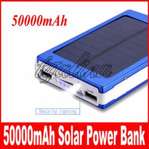 горячие продажи высокое качество 50000mAh солнечной энергии Банка резервного копирования батареи 50000 мАч Солнечное зарядное устройство для GPS MP3 ipad мобильный телефон бесплатная доставка