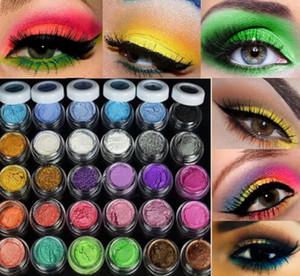 التسوق Wholsales الحرة 2015 الجديدة 30 الألوان بريق مسحوق ظلال العيون ماكياج المعدنية المعدنية عينيه مسحوق المهنية