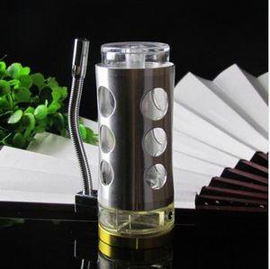Neues Angebot Multifunktionale Silber Edelstahl Topf tragen Wildfire Maschine / Mode-Hersteller, hohe 14 CM breit ist 6 CM, Großhandel Glas ho