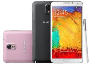تم تجديده 100٪ الأصلي سامسونج غالاكسي ملاحظة 3 N900A N900T N900V N900P N9005 الهاتف المحمول رباعية النواة RAM 3GB ROM 32GB 4G-LTE