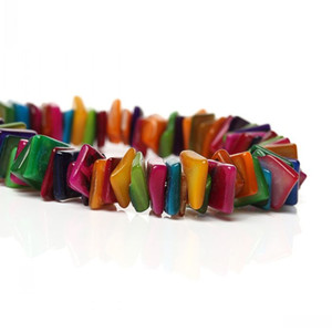 Dorabeads Shell Loose Beads Irregular Mixed About 11mm x 9mm-8mm x 6mm,79cm(31 1 8