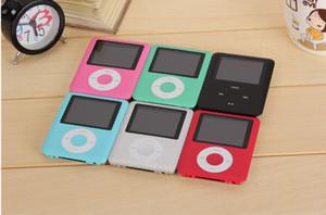 Alta calidad 20pcs 3TH 1.8 pulgadas 8GB / 16GB / 32GB Reproductor de MP3 Radio FM juegos mp4 4TH Envío gratis