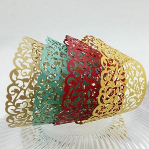 cup cake papel de arte invólucro Cricut Lite Cupcake Wrappers Cartucho Lace para o titular do casamento do partido bakeware bolo WT03