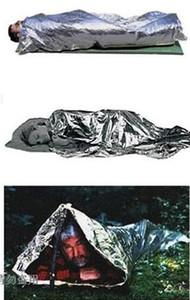 Frete grátis Folha de Sobrevivência De Emergência À Prova D 'Água Térmica Primeiros Socorros Resgate Cobertor de Vida-Cobertor Militar