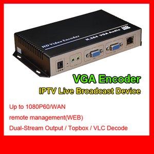 MPEG-4 AVC / H.264 VGA Audio HD Video Encoder Hotel iptv solución rtv encoder single channel h.264 vga iptv codificador HD Video Capture Card