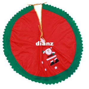 Fashion Hot 90cm Santa Claus Tree Skirt Christmas Tree Skirt Christmas Tree Christmas supplies decoraciones navideñas