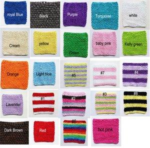 6x6 pollici Crochet Tutu Tube Top TuTu Fasce vestire top Baby Chest Warp Alta qualità