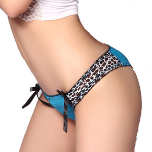 W1025 2015 venta CALIENTE de algodón Ropa Interior de mujer leopardo Sexy Briefs para mujer