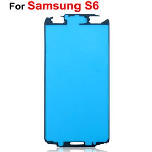 Para Samsung Galaxy A3 A5 A7 S6 Front Frame Housing Pre-Cut Pegamento Adhesivo Cinta Adhesiva DHL EMS Envío Gratis