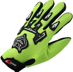 Vente chaude Automne et Hiver équitation gant 5 couleurs options respirant sport prévention des accidents vélo vélo gants pour hommes femmes