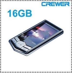 Atacado - MP4 Player MP3 players Novo 8GB 16GB Slim LCD Tela PMP Video Media FM Radio Player Freeship