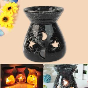 """أسود السيراميك النفط الشعلات لافندر العطر هدية الروائح رائحة الأساسية 3.07 * 2.76 """"جديد"""